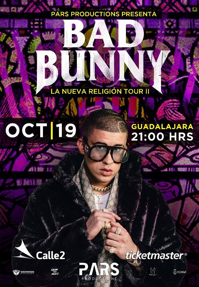 Bad Bunny - 19 de Octubre @ Calle 2