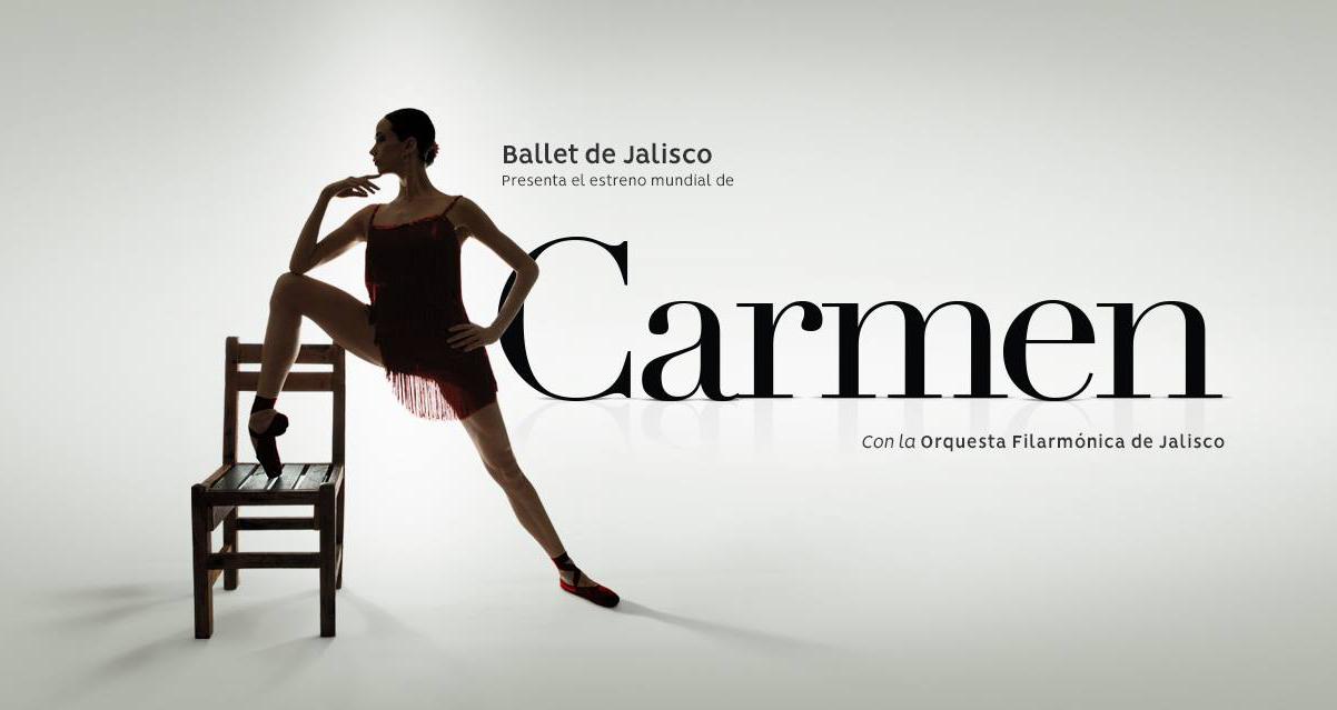 El Ballet de Jalisco presenta el estreno mundial de: Carmen - Del 20 al 23 de Septiembre en Teatro Degollado