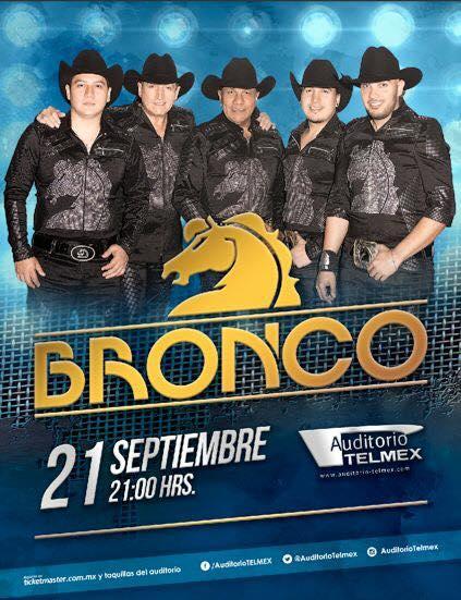 Bronco - 21 de Septiembre @ Auditorio Telmex