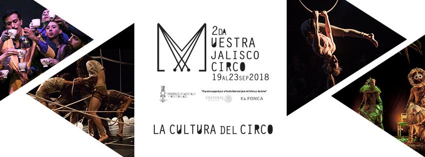 2da Muestra Jalisco Circo - 19 al 23 de Septiembre en Foro Periplo
