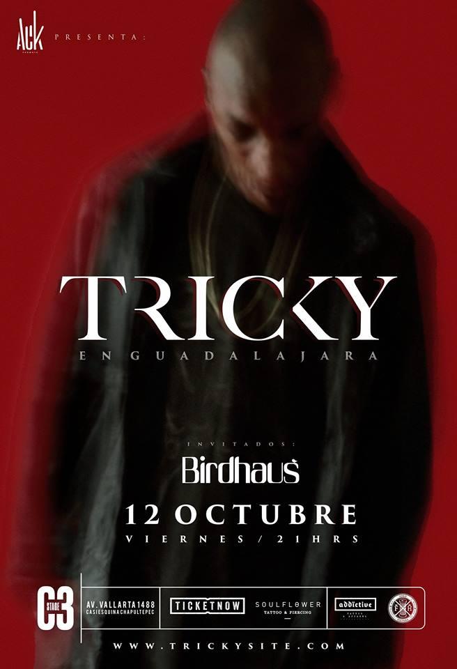 Tricky - 12 de Octubre @ C3 Stage