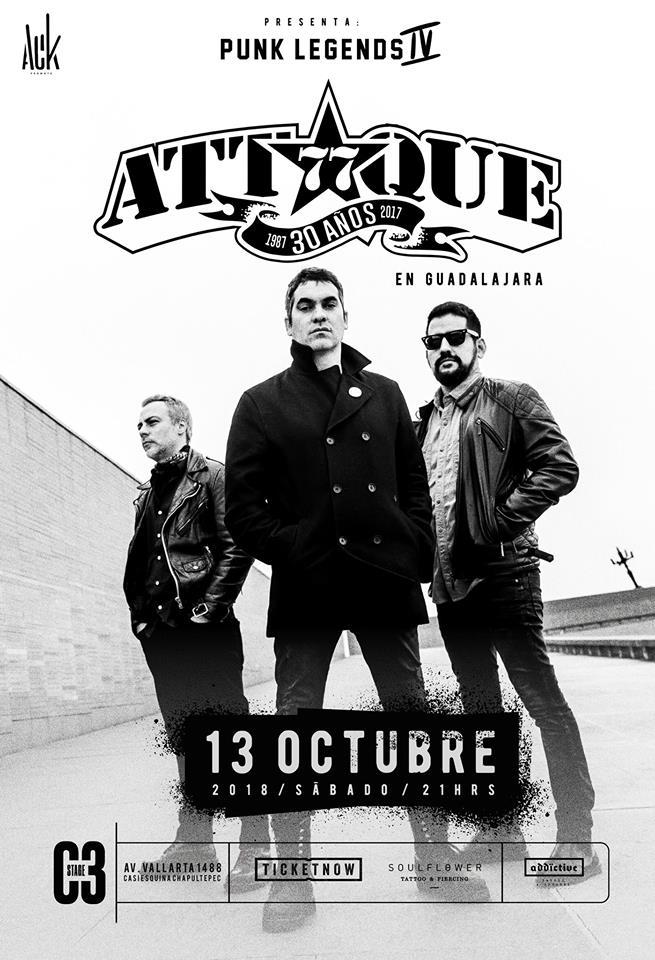 Attaque 77 - 13 de Octubre @ C3 Stage