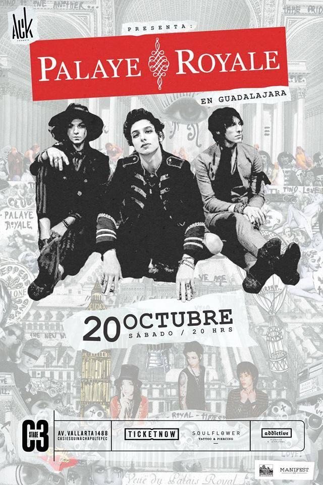 Palaye Royale - 20 de Octubre @ C3 Stage