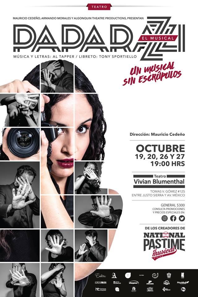 Paparazzi, El Musical - Temporada del 19 al 27 de Octubre en Vivian Blumenthal