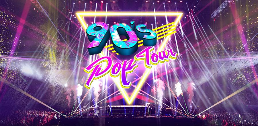 90´s Pop Tour, 8 de Diciembre en Auditorio Telmex