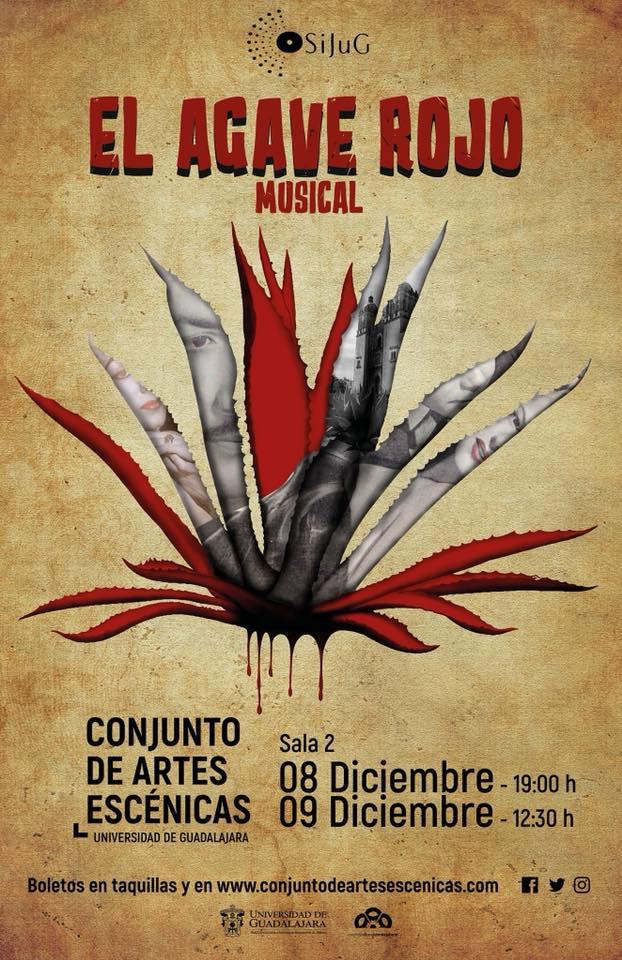 """""""El Agave Rojo"""" - 8 y 9 de Diciembre en Conjunto de Artes Escénicas"""