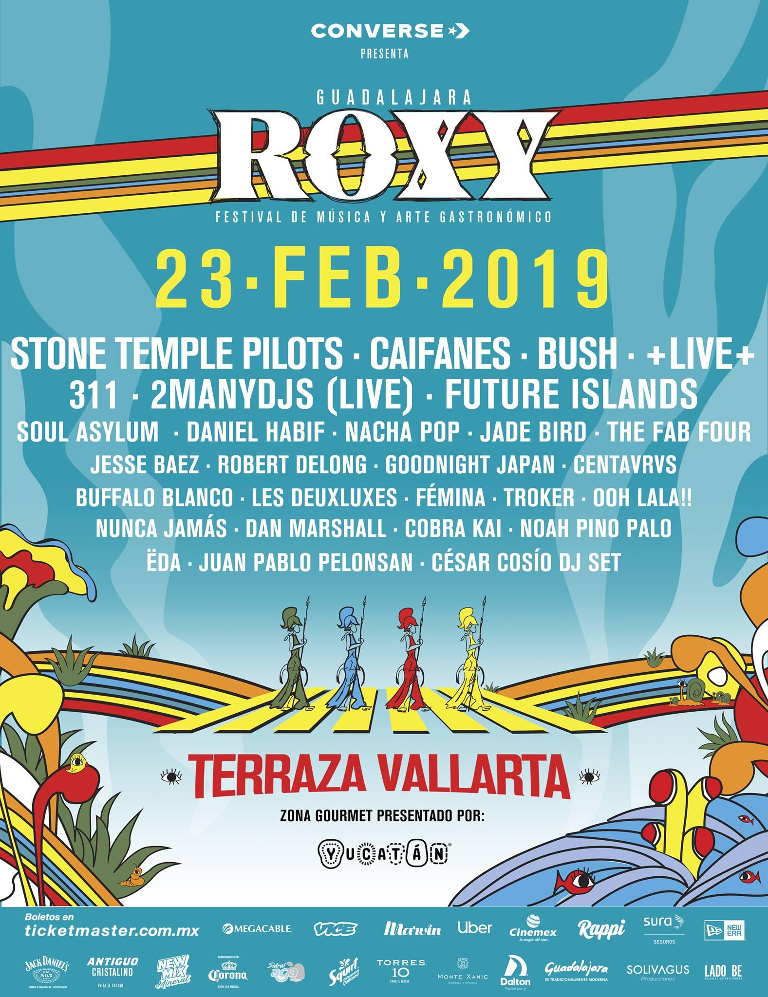 Roxy Fest 2019, 23 de Febrero en Terraza Vallarta