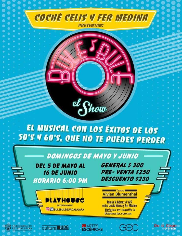"""""""Bule Bule"""" El Show - Temporada del 5 de mayo al 16 de junio en Teatro Vivian Blumenthal"""