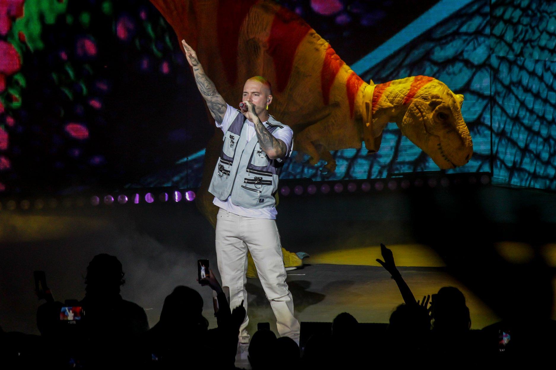 J Balvin - Vibras tour, Auditorio Telmex