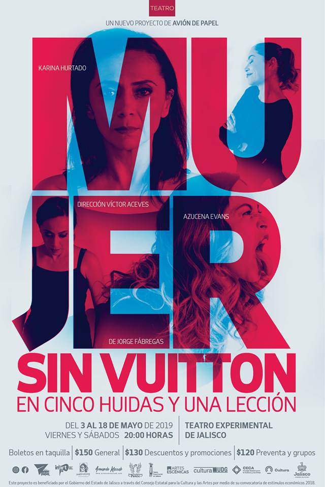 Mujer sin Vuitton