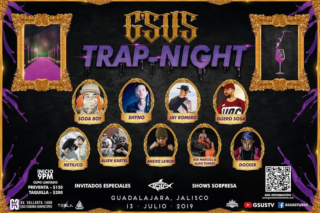 Trap Night, 13 de julio en C3 Stage