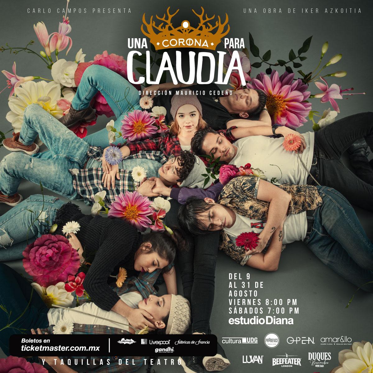 Una Corona para Claudia - Temporada 9 al 31 de agosto en Estudio Diana
