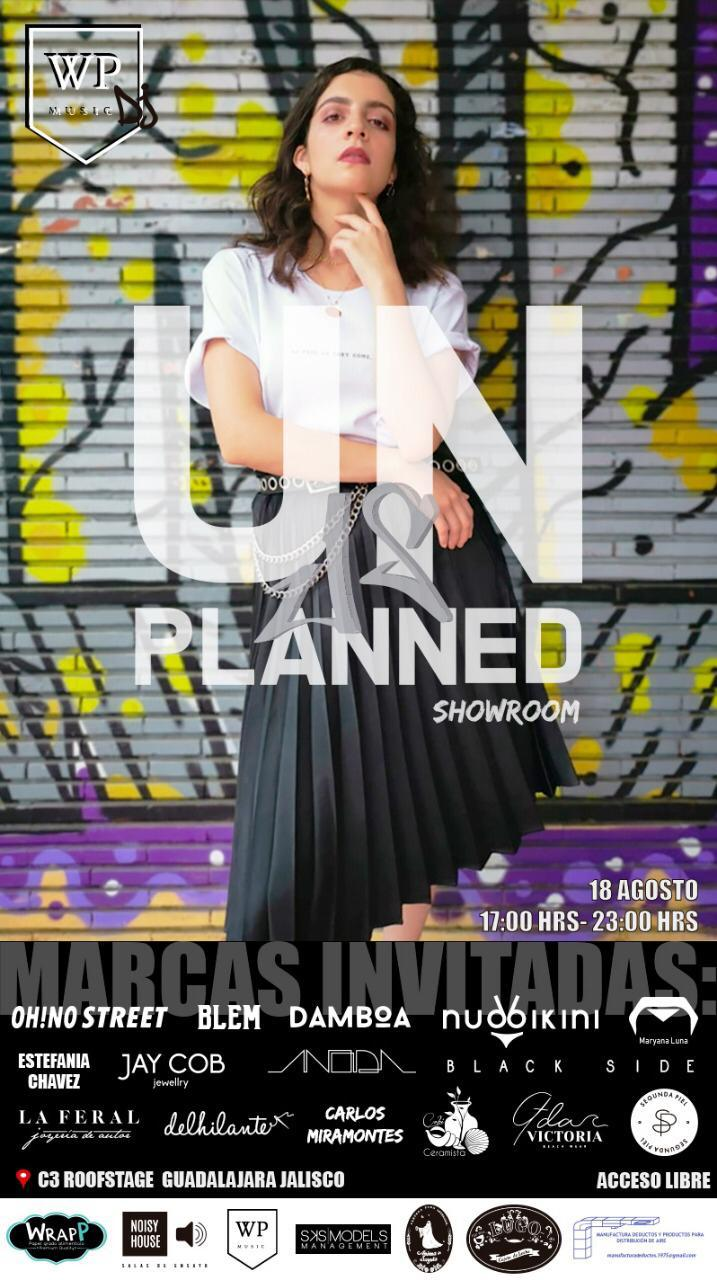 Unplanned Showroom, 18 de Agosto en C3 Stage