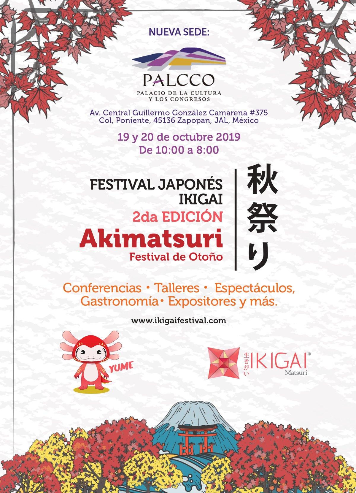 Ikigai Festival, 19 y 20 de Octubre en Guadalajara