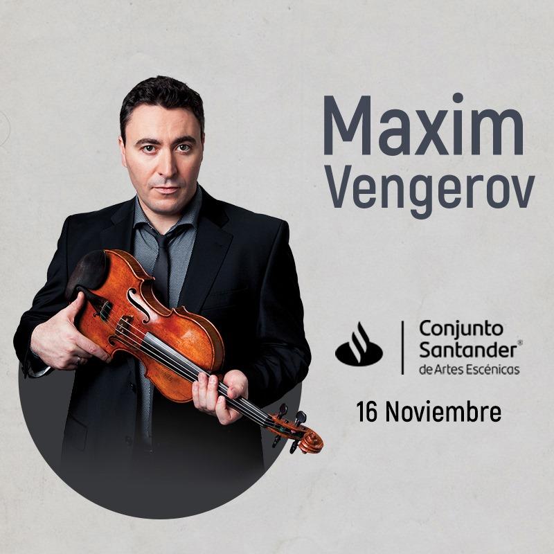 MaximVengerov - 16 de noviembre en Conjunto Santander