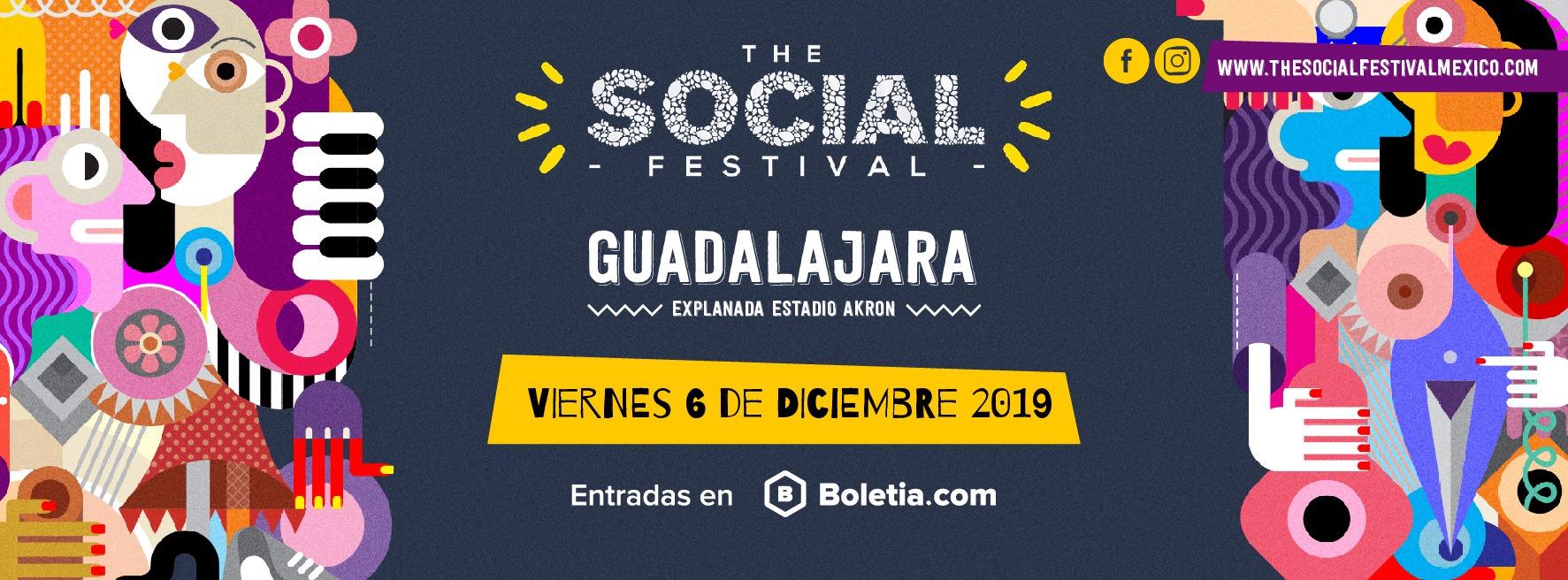 The Social Festival - 6 de diciembre en Estadio Akron