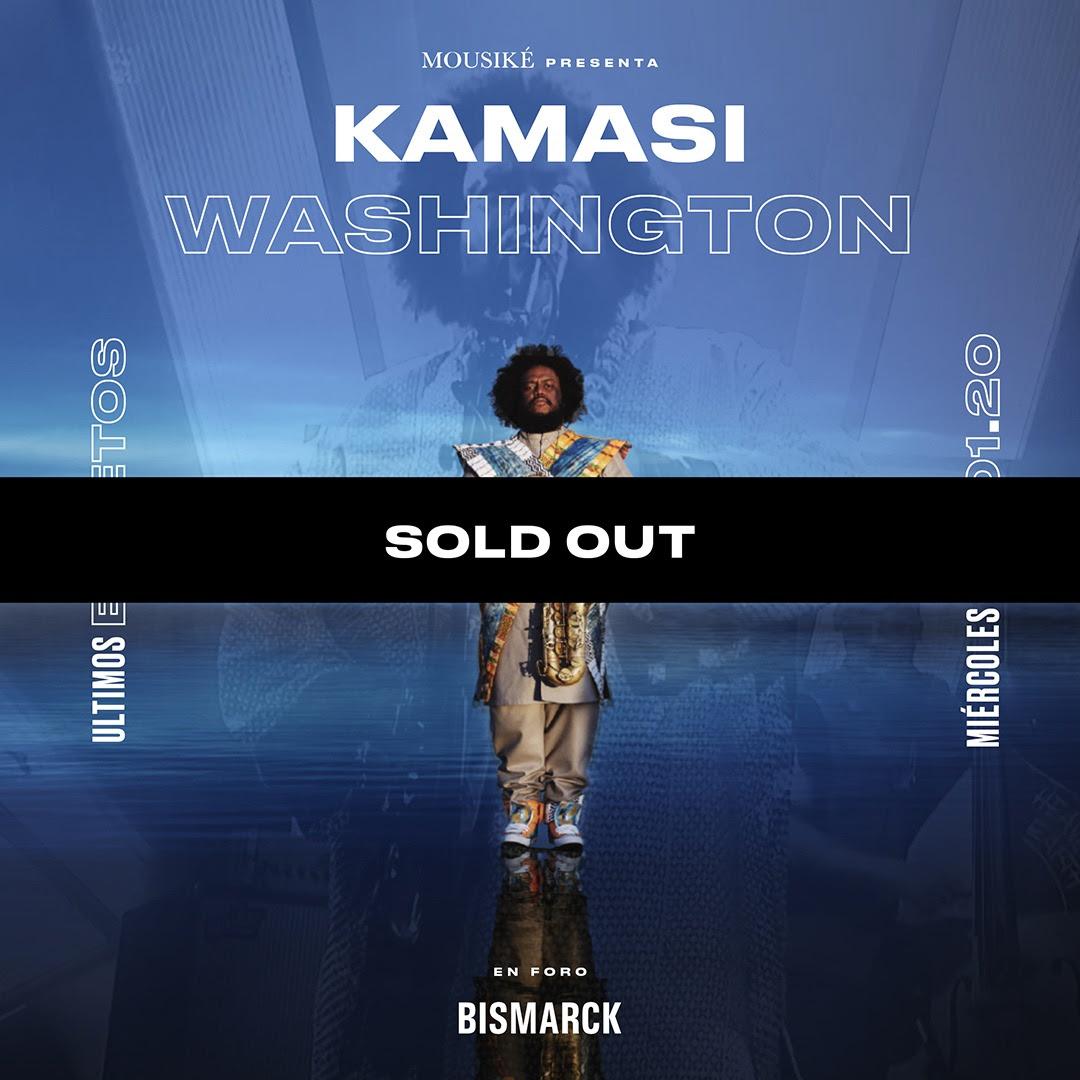 Kamasi Washington - 22 de Enero en Foro Bismarck (SOLD OUT)