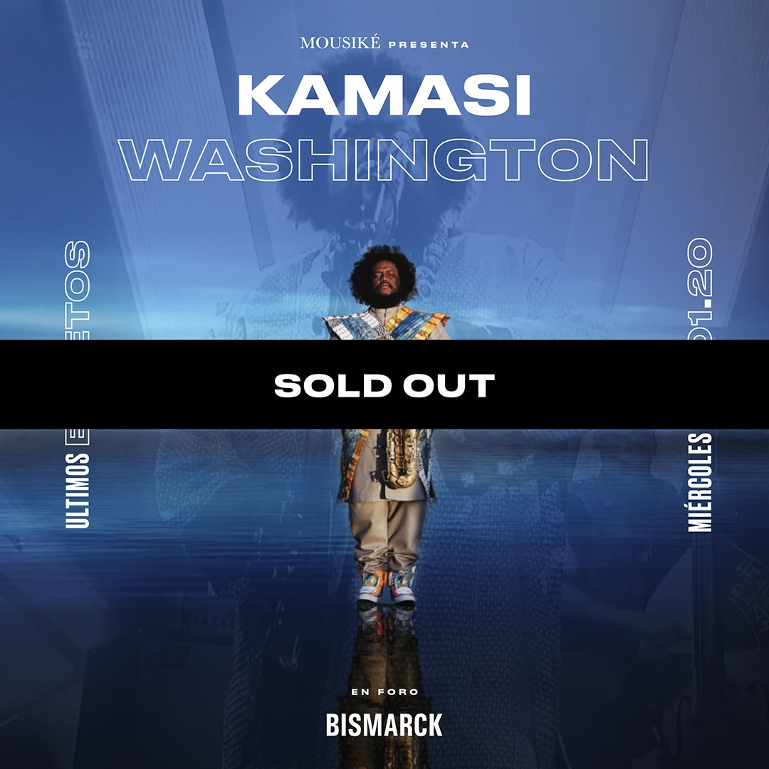 Kamasi Washington - 22 de Enero en Foro Bismarck (SOLD OUT)