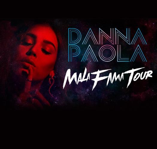 """Gira """"Mala Fama Tour"""" de Danna Paola, 28 de febrero en Teatro Diana"""