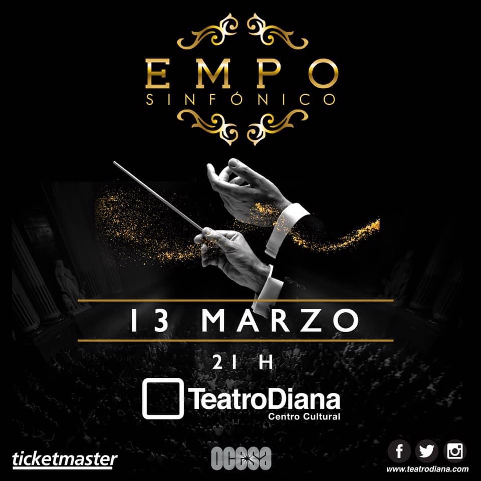 EMPO Sinfónico, 18 Diciembre en Auditorio Telmex
