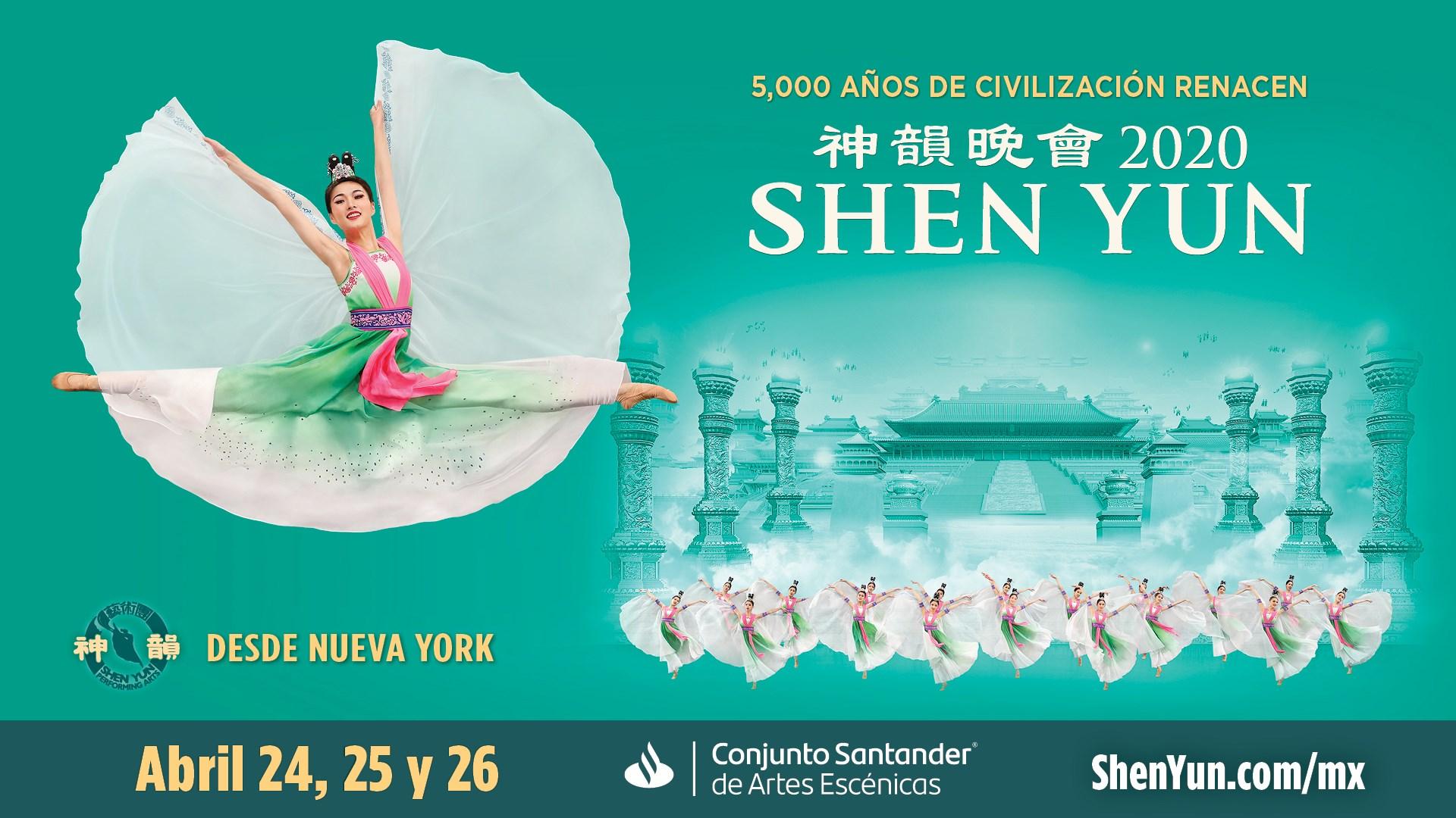 SHEN YUN – del 24 al 26 de abril en el Conjunto Santander
