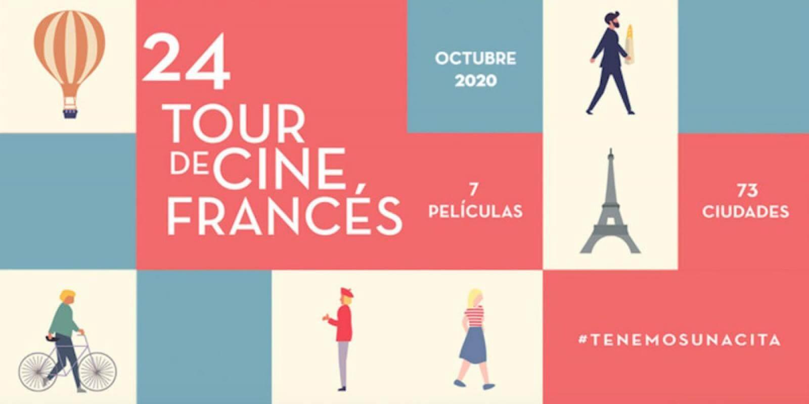 24° Tour de Cine Francés en salas mexicanas desde el 8 de octubre