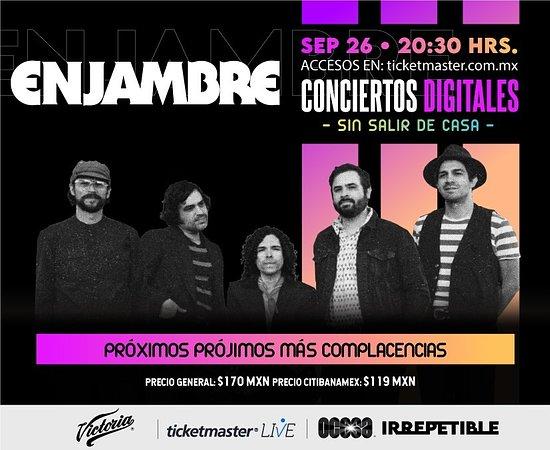 Enjambre IRREPETIBLE, 26 de septiembre por Ticketmaster Live