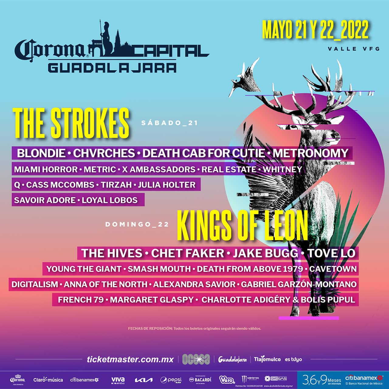 Corona Capital GDL - 21 y 22 de mayo, Valle VFG