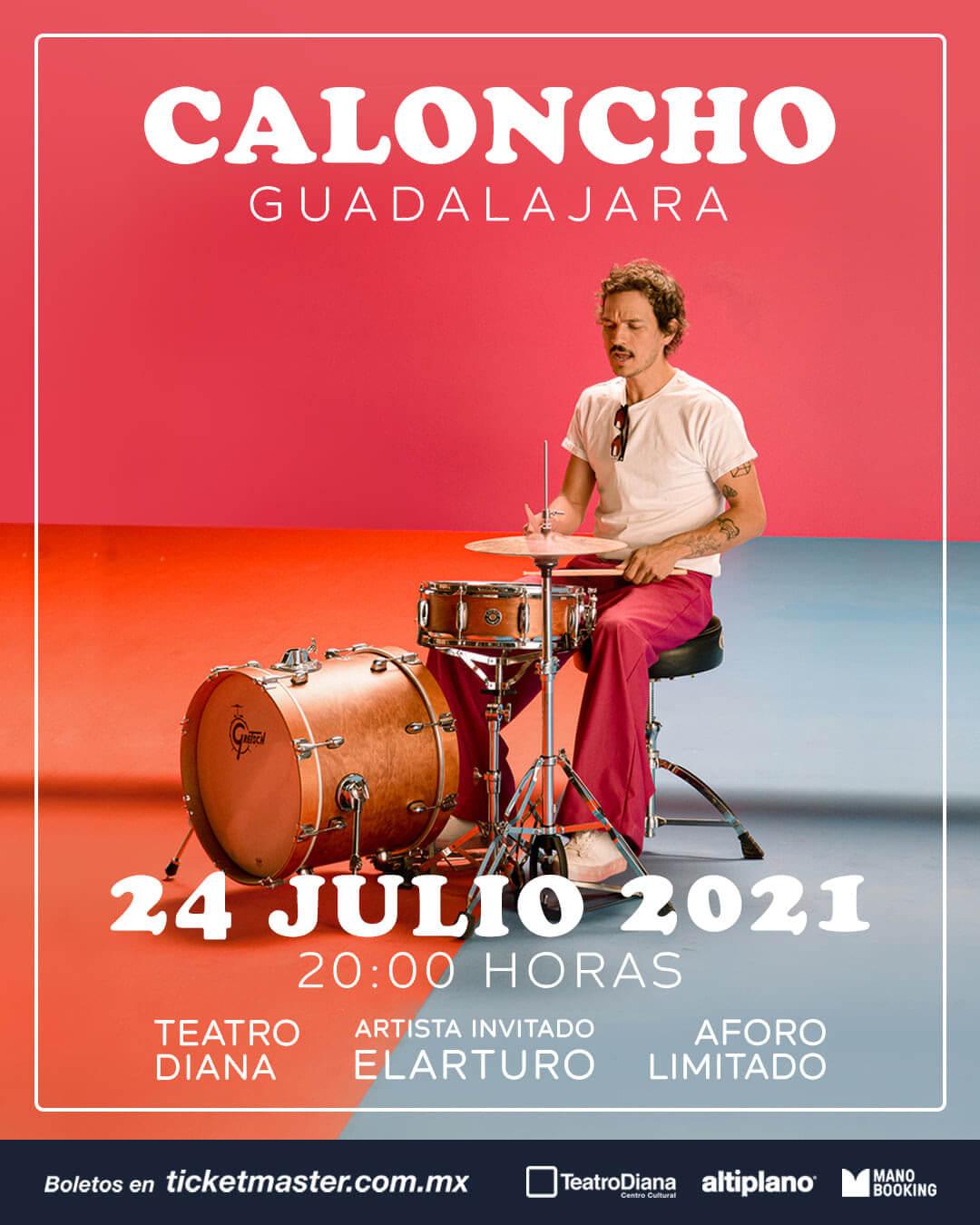 Caloncho, 24 de Julio en Teatro Diana