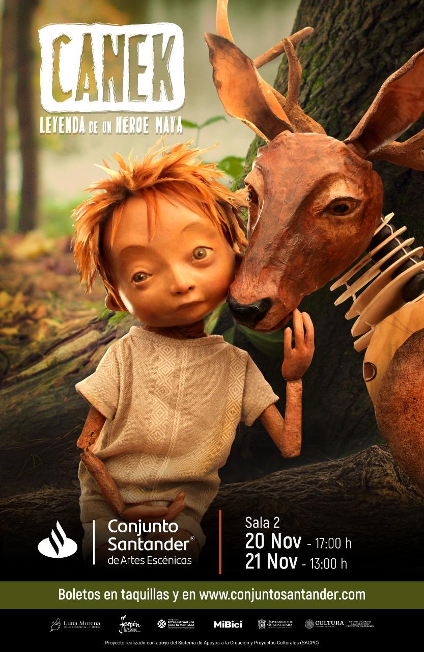 Canek - Leyenda de un héroe maya, 20 y 21 de noviembre 2021, Sala 2 Conjunto Santander